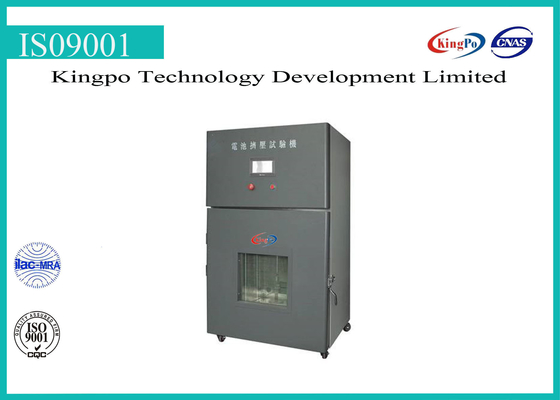 Smart Battery Testing Machine Battery Crush Test Chamber For Electronic Products