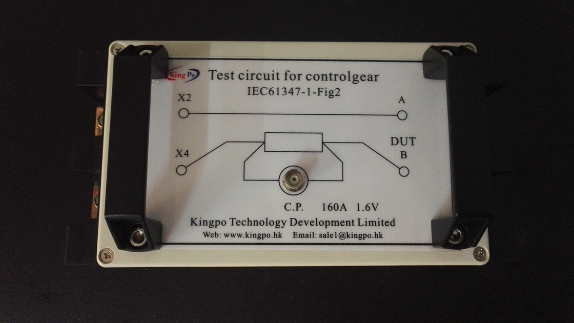 IEC 61347-1-2012 Figure 3 Test Circuit for Controlgear / Light Measurement Equipment
